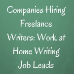 writing job leads article