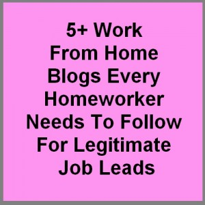five or more work from home blogs