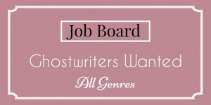 job board ghostwriters