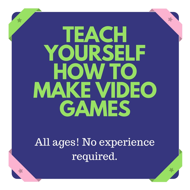 How To Make A Book Yourself : Teach yourself how to make video games all ages and no