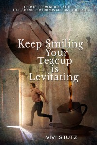 keep smiling your teacup is levitating